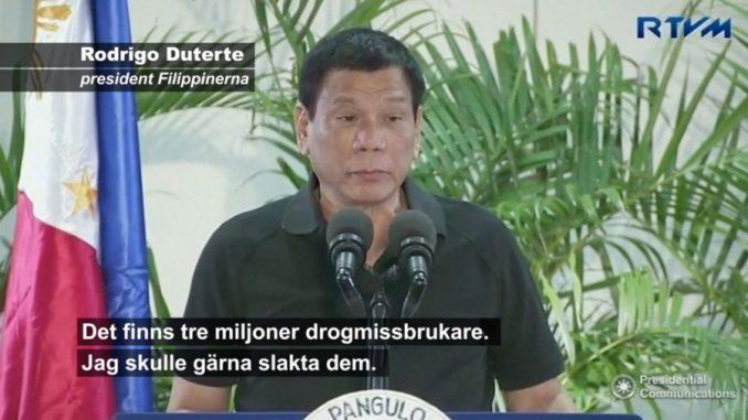 Filippinernas drogkrig