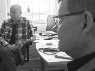 Bjarne Ekholm och överläkare Lars Sjöstrand resursteamet metadonsektionen