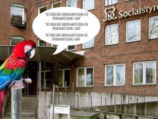 Papegojan på Socialstyrelsen