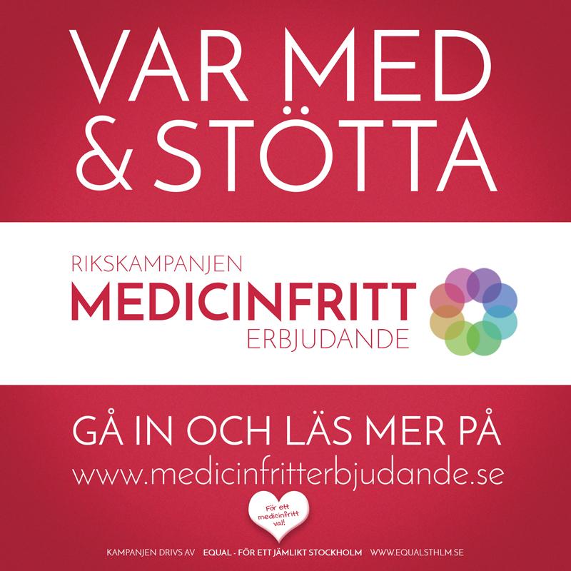Kampanj Medicinfritt erbjudande