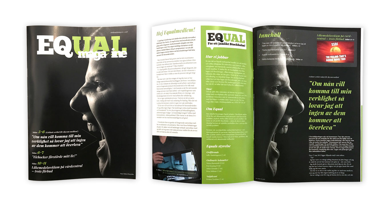 Equals medlemstidning
