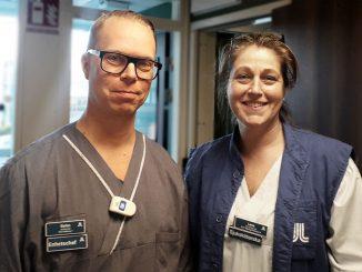 Stefan och Lena - enhetschefer på Beroendeakuten