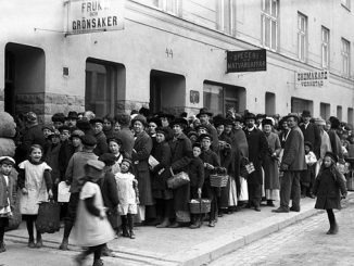 Potatiskö år 1917 Södermannagatan 44 i Stockholm