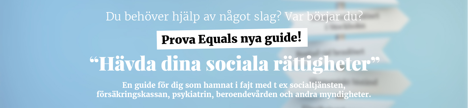 Hävda dina social rättigheter